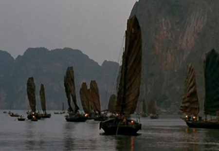 Discover Halong bay and Lan ha bay through the movie Indochine 1992