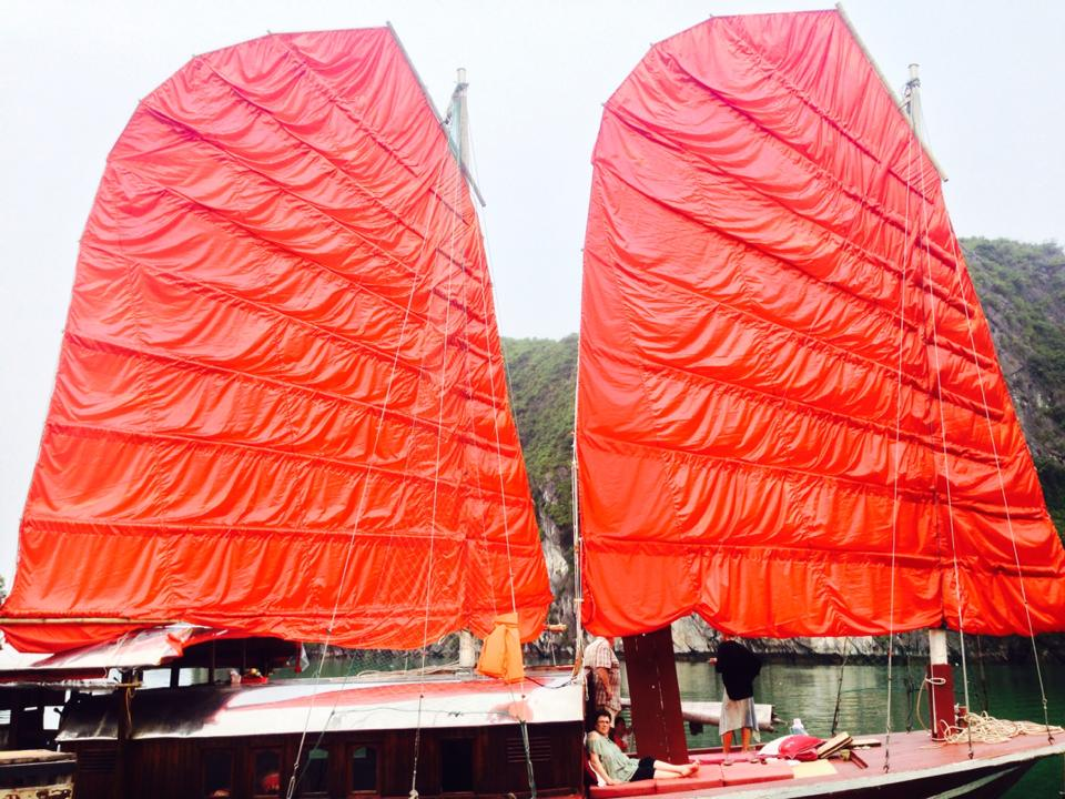 Sails of Indochina - Lan Ha Bay