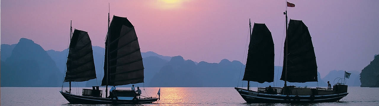 Junks of Indochina